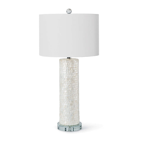 Scalloped Capiz Table Lamp - Regina Andrew Design