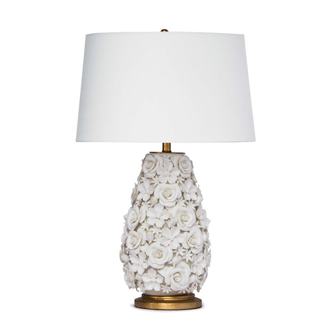Alice Porcelain Flower Table Lamp - Regina Andrew Design