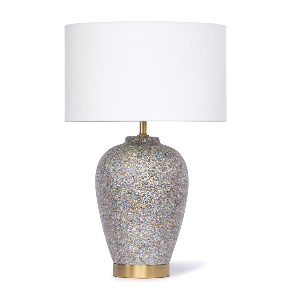 Regina Andrew Design Presley Ceramic Shagreen Table Lamp - Trovati