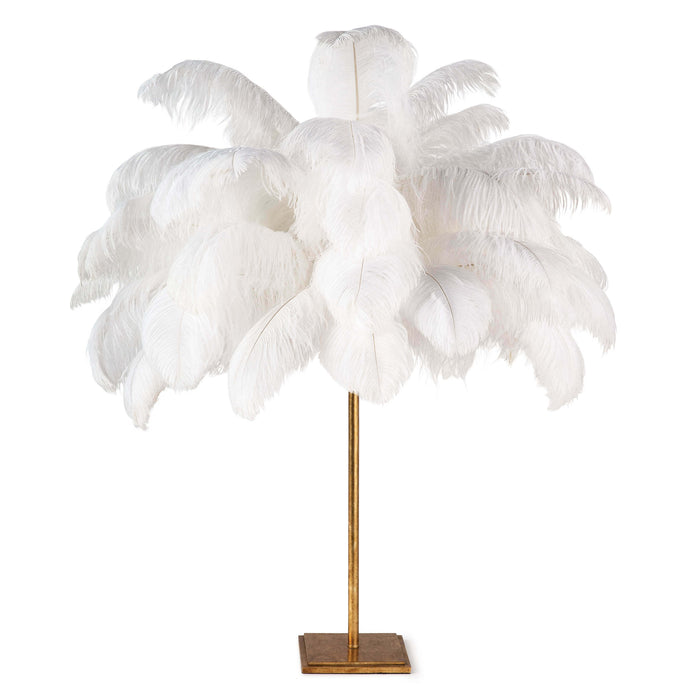 Josephine Feather Table Lamp | Regina Andrew | Trovati Studio