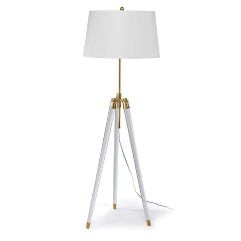 Brigitte Floor Lamp (Natural Brass) - Regina Andrew Design