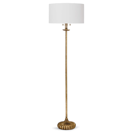 Clove Stem Floor Lamp (Antique Gold Leaf) | Regina Andrew | Trovati Studio