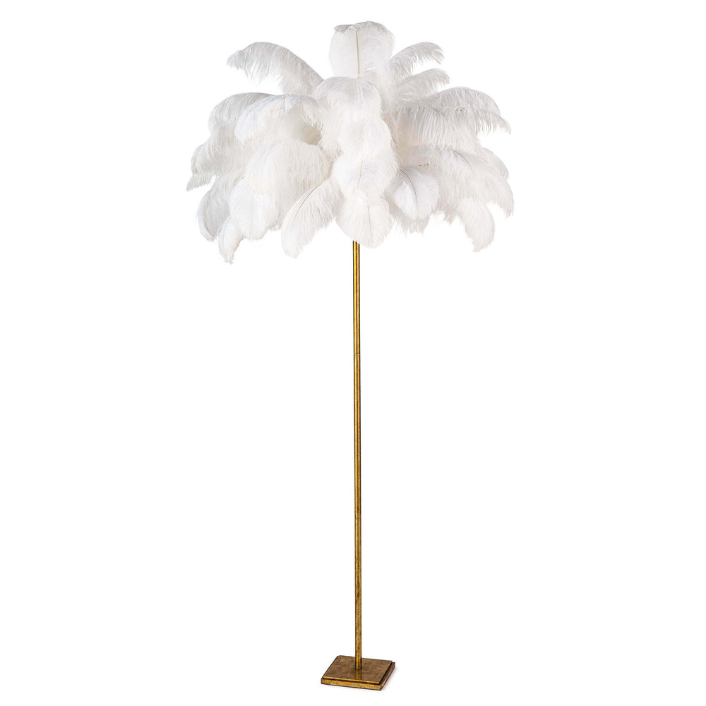 Josephine Feather Floor Lamp | Regina Andrew | Trovati Studio