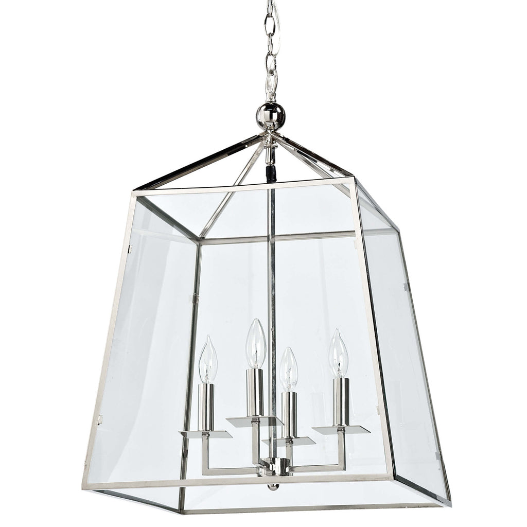 Cachet Lantern (Polished Nickel) - Regina Andrew Design - Trovati