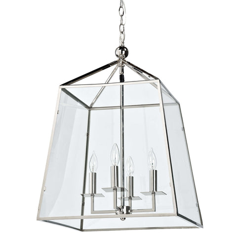 Cachet Lantern (Polished Nickel) - Regina Andrew Design