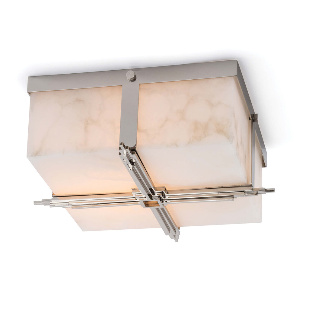 Regina Andrew Design Gotham Flush Mount - Polished Nickel - Trovati
