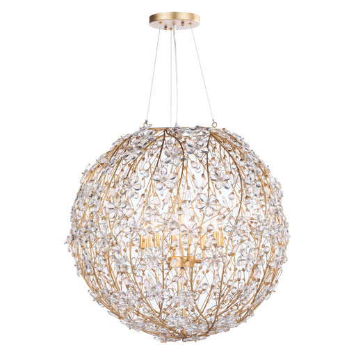 Regina Andrew Design Group Cheshire Chandelier Large - Gold Leaf - Trovati