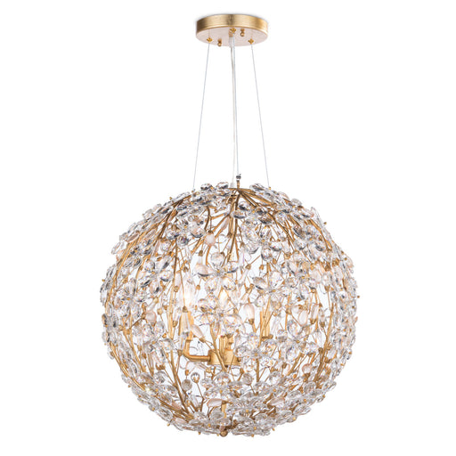 Regina Andrew Design Group Cheshire Chandelier Small - Gold Leaf - Trovati