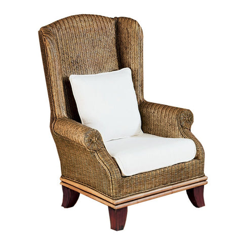 Padma's Plantation Bali Wing Chair