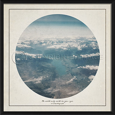 Wilderness Print - Aerial - Spicher and Company | Trovati Studio