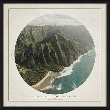 Wilderness Print - Coastline - Spicher and Company | Trovati Studio