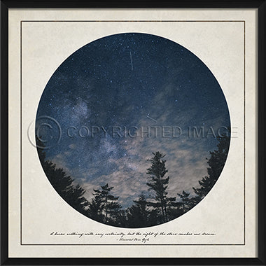 Wilderness Print - Night Sky - Spicher and Company | Trovati Studio