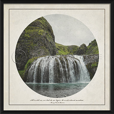 Wilderness Print - Waterfall - Spicher and Company | Trovati Studio