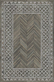 Vinyl Floorcloth -  Glasglow - Spicher and Company | Trovati | grey | white | rectangle