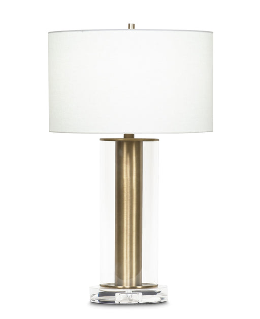 Latour Table Lamp (Antique Brass) - FlowDecor | Trovati