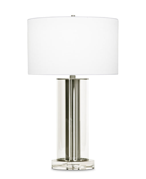 Lilac Table Lamp (Brushed Nickel) - FlowDecor | Trovati