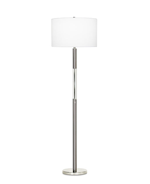 Poppy Floor Lamp (Polished Nickel) - FlowDecor | Trovati