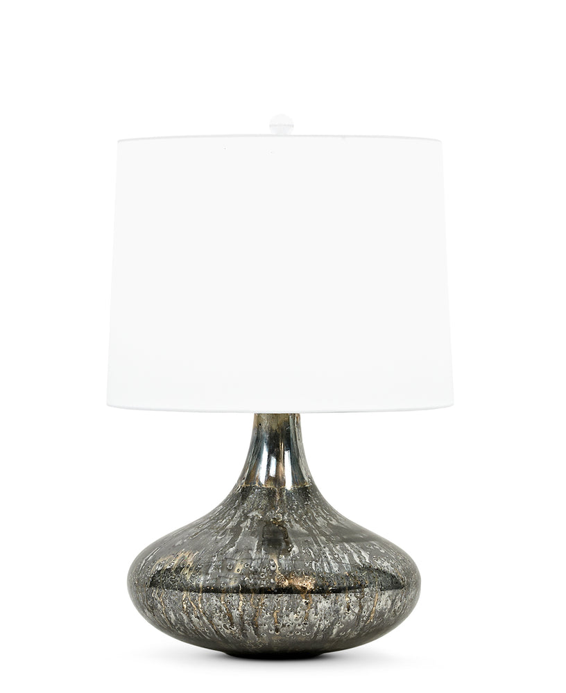 Miles Table Lamp (Dark Silver) - FlowDécor