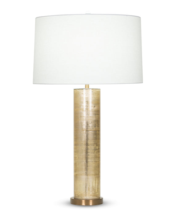 Melville Table Lamp (Beige Metallic) - FlowDécor