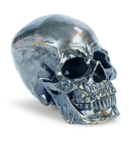 Regina Andrew Design Antique Bronze Metal Skull