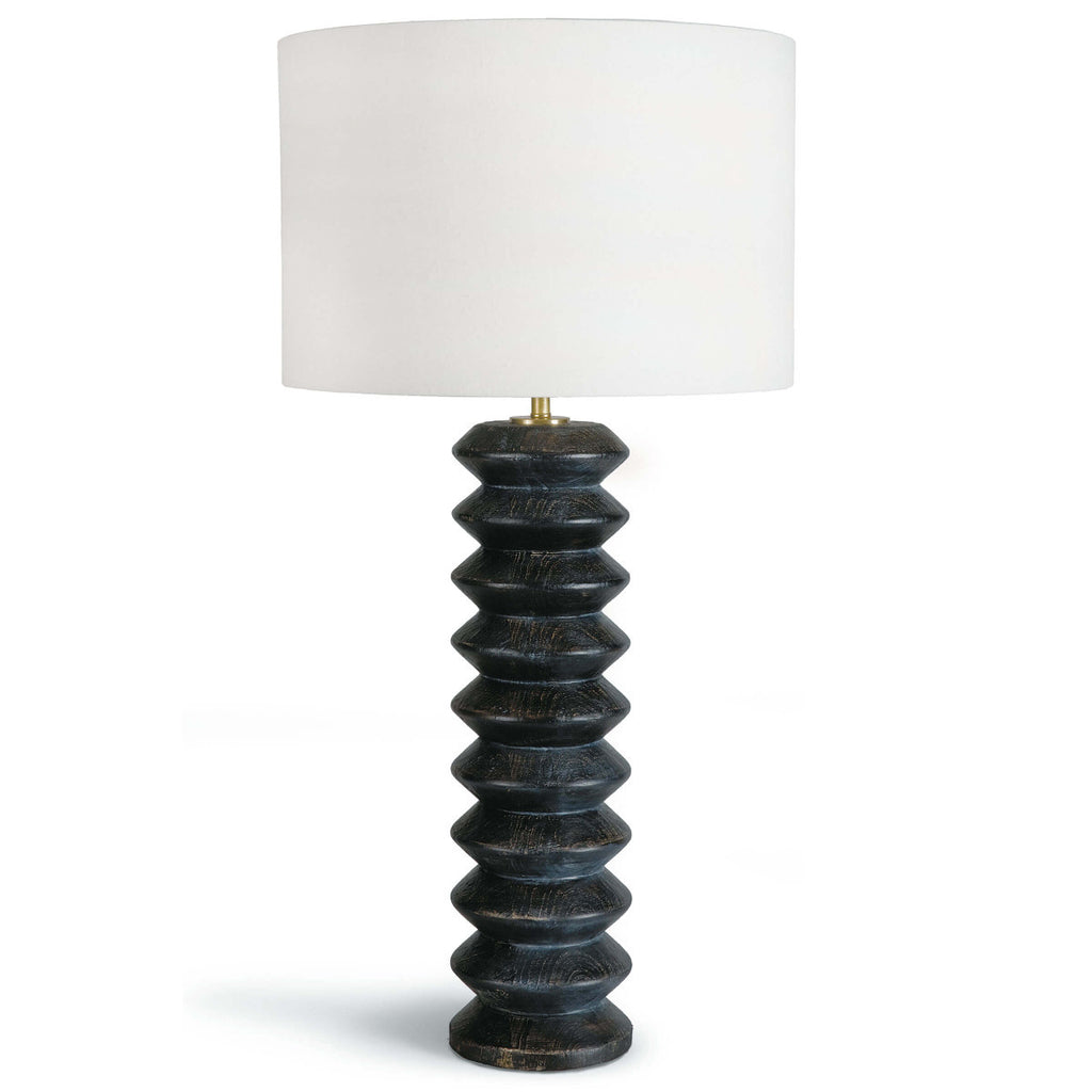 Regina Andrew Design Accordion Table Lamp- Ebony