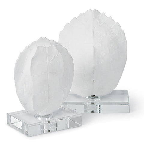 Regina Andrew Design Turtle Shells on Crystal Set of 2