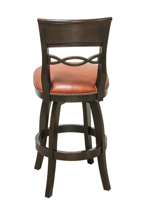 Dina Bar Stool | Wood 360 swivel | Trovati Studio