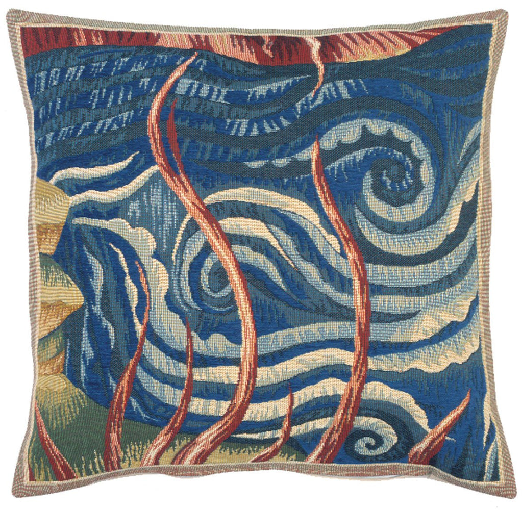 L'Eau Decorative Pillow - Jules Pansu