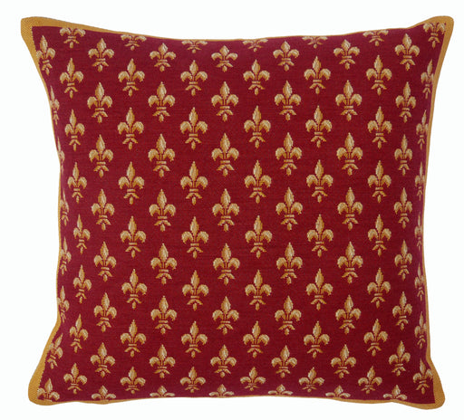 Jules Pansu Petit lys Rouge Pillow