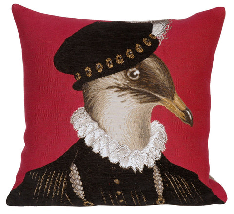 Gondran Rouge Decorative Pillow - Jules Pansu