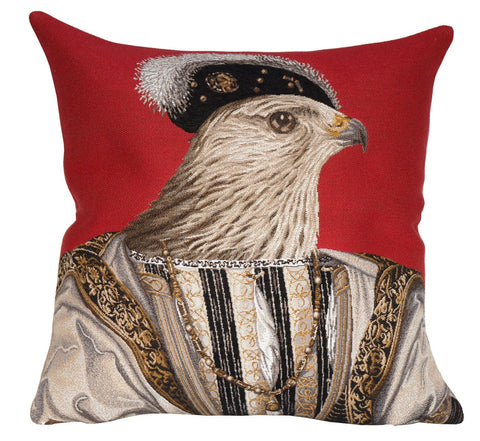 François Rouge Decorative Pillow - Jules Pansu