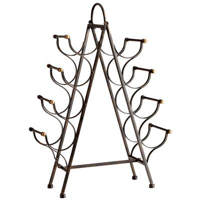 Riesling Tower Wine Rack | Cyan Design | Trovati Studio | Bronze