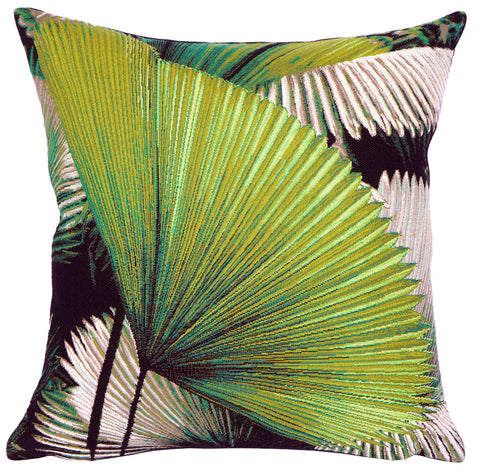 Fan Palm Pillow - Jules Pansu