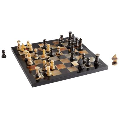 Checkmat Chess Board - Cyan Design