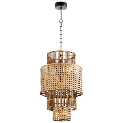 Wickham Pendant | Cyan Design | Trovati Studio | Tropical | Rattan | Bamboo | Natural
