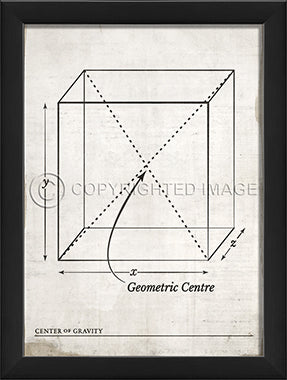 Center of Gravity Print