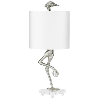 Ibis Table Lamp Silver | Cyan Design | Trovati Studio