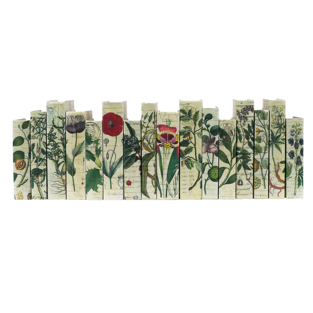 Botanical Series Decorative Books | E.Lawrence Ltd | Trovati Studio