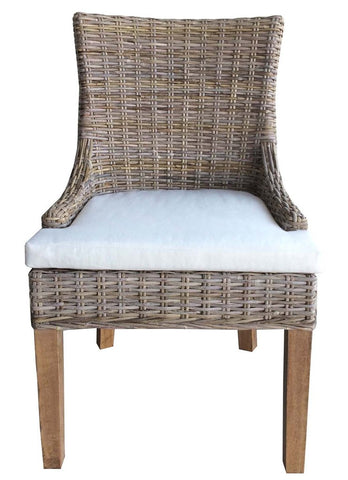 Padma's Plantation Alfresco Dining Chair Kubu - S/2