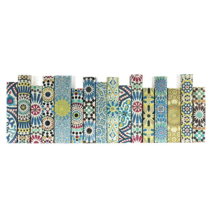 Arabesque Mosaic Decorative Books | E.Lawrence Ltd | Trovati Studio