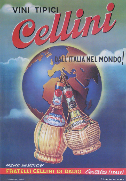 Cellini Authentic Vintage Poster - Trovati
