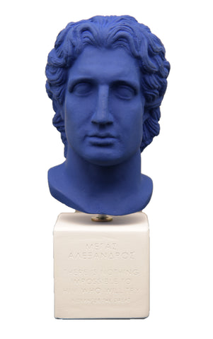Alexander the Great Ceramic Bust - SOPHIA