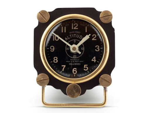 Pendulux Vintage Reproduction Altimeter Table Clock