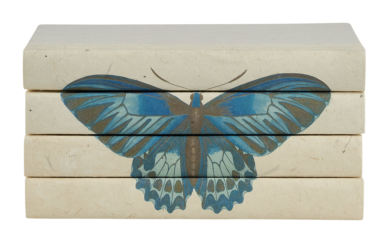 Monarch Butterfly Decorative Books | E.Lawrence Ltd | Trovati Studio