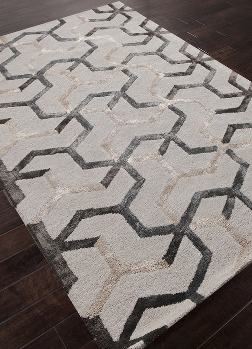 Jaipur Addy Rug - Light grey/Tan/Cream  - 2
