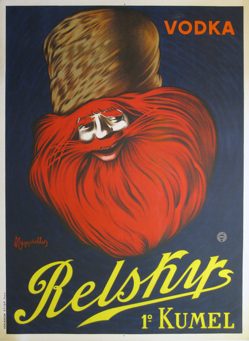 Relsky Vodka Authentic Vintage Poster by Leonetto Cappiello - Trovati