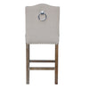 Padma's Plantation Calusa Beach Counter Stool - Brushed Linen - Trovati
