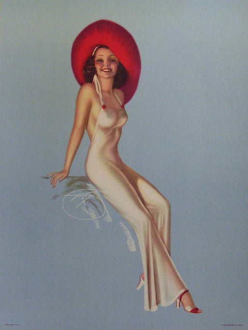 Pin-Up Authentic Vintage Poster by Billy de Vorss - Trovati