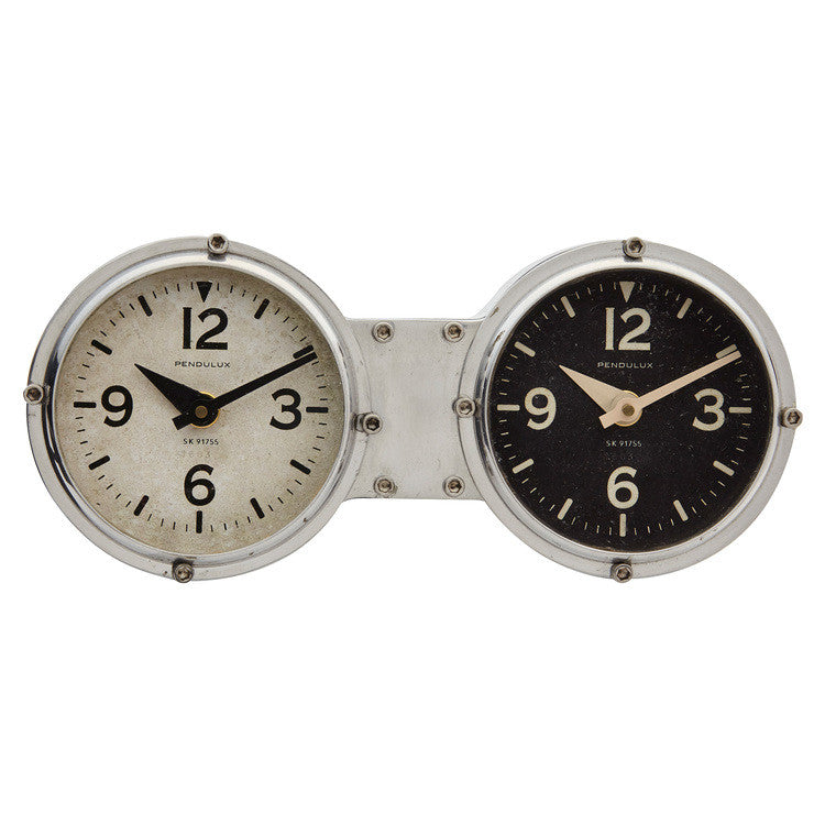 Pendulux Vintage Reproduction Dashboard Table/Wall Clock  - 1
