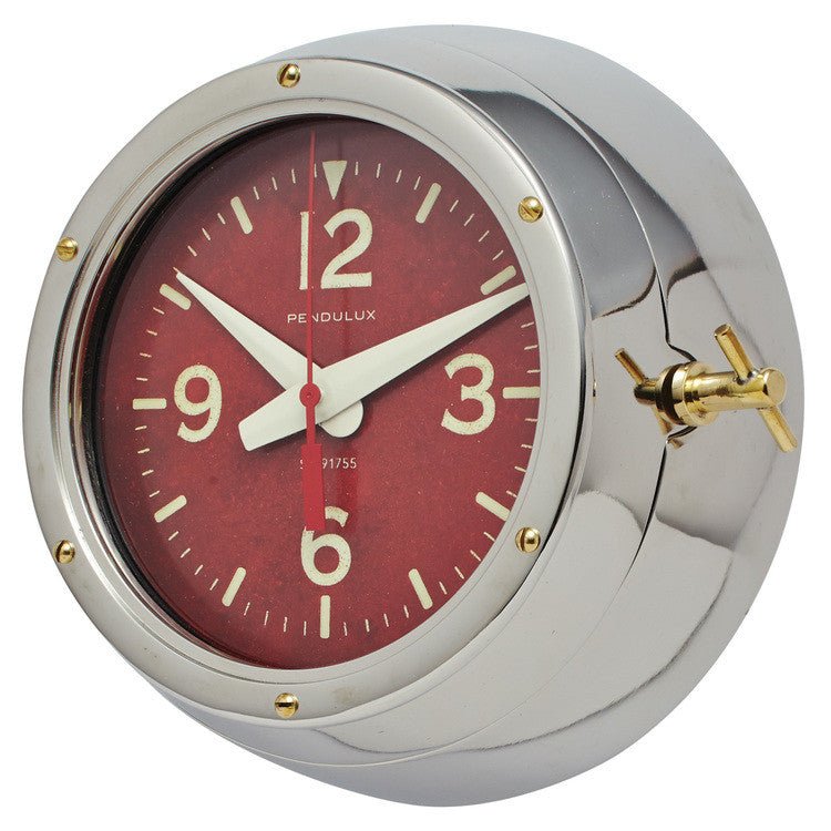 Pendulux Vintage Reproduction Deep Sea Wall Clock  - 2
